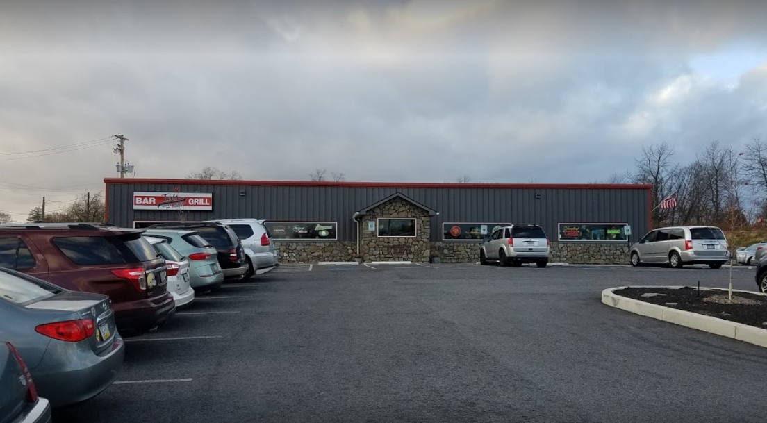 Ted's Bar and Grill in Harrisburg, biofilm around the ice machine deflector plate, fails state inspection 2nd straight year