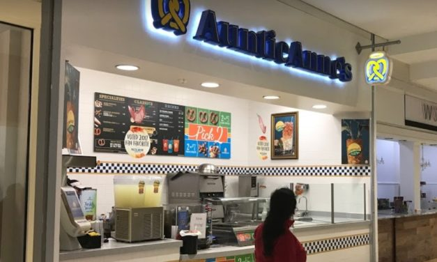 """King of Prussia Auntie Anne's bombs inspection, """"several dead roach like insects observed"""" 7 violations cited"""