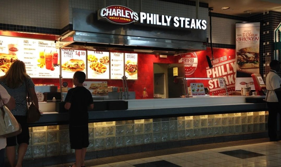 Charley's Philly Steaks in Westmoreland Mall ordered not to use ice machine; Black filth observed on the interior of the ice machine