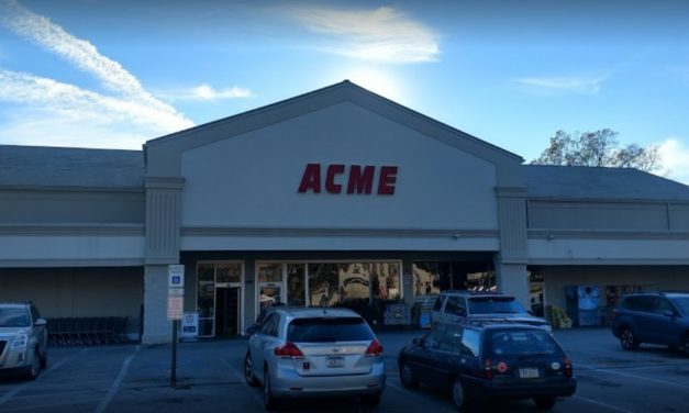 Acme in Wynnewood fails inspection, mouse-like droppings, insect wall light stored over prep table in bakery