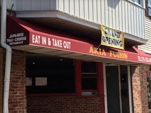 """Bristol's Akia Japanese Fusion hit with 8 violations, """"Observed a lounge chair, shampoo, and conditioner in the food prep area"""" 4th straight failed inspection"""