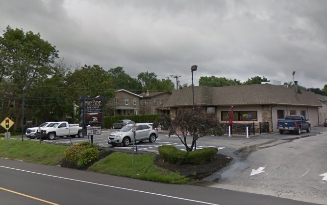 33 violations for Ambler's Fireside Grille, 3 times repeat-Soda gun nozzle interiors at bar observed with mold-like residue, Health Department threatens legal action