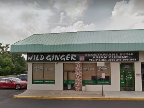 26 violations following inspection at New Wild Ginger in Huntingdon Valley, shampoo stored in sanitizer basin of 3-compartment sink