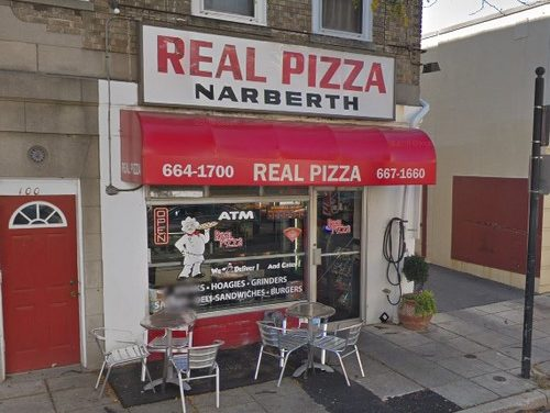 Real Pizza Narberth, Mouse like droppings throughout, slapped with 11 inspection violations- 5th straight fail