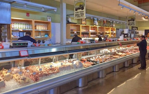 Ardmore's Stoltzfus Family Foods, 19 violations, Mouse like droppings observed on the floor under front meat retail cases cited at inspection