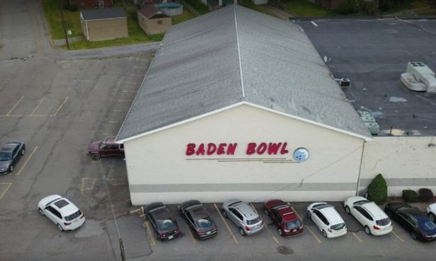 Black biofilm in ice machine, Baden Bowl fumbles inspection with 18 violations; numerous rodent pellets in the back storage area and around the upright freezer near the front counter