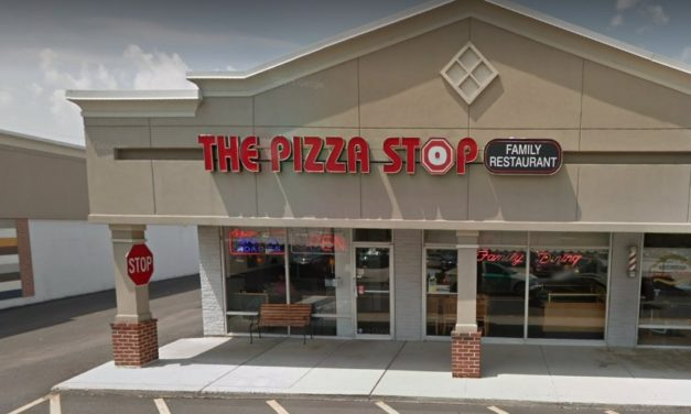 The Pizza Stop Restaurant in Collegeville fails 7th inspection since Nov 2016; Interior backsplash of ice machine with some rust and not clean