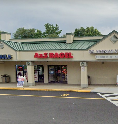 A&S Bagel in Bensalem blows inspection; Scoop for ice (stored within ice machine) contains a mold-like accumulation. Black specs were observed on ice