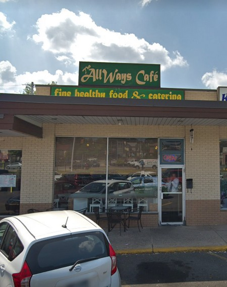 The Allways Cafe in Huntingdon Valley fouls inspection; Dead Roach like insect observed on floor at threshold to walk in refrigerator and on glue boards throughout facility, 6 violations