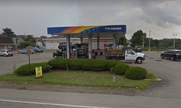 Sunoco in Belle Vernon fails 3rd inspection in Feb; Rodent activity (droppings) in cabinets under coffee area, bag in box area, behind Monster cooler and in storage room