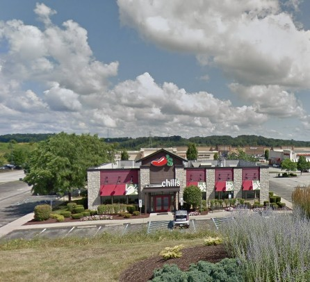 Chili's Grill and Bar in Greensburg fouls inspection; Heavy accumulation of black filth in soda mechanism, 12 violations