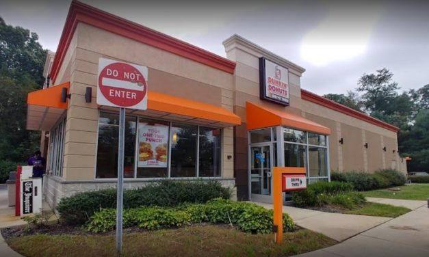 East Bradford Dunkin Donuts blows inspection, tanish slime and black spots of mold were found on the top of the drop plate inside ice machine