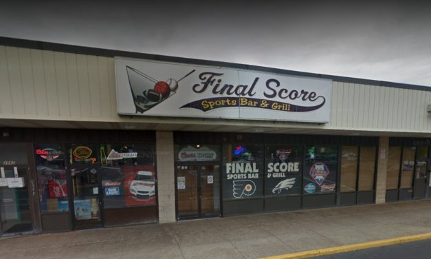 Bensalem's Final Score Sports Bar & Grill fouls inspection; Small flies were seen in liquor bottle, rodent droppings found sporadically throughout kitchen, mold and slime is accumulating on the baffle in the ice bin