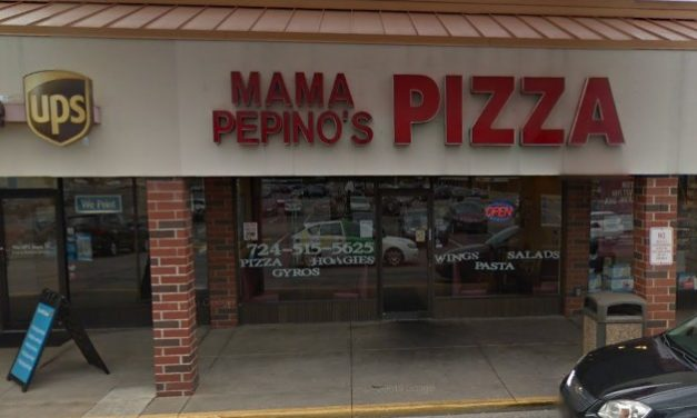 Mama Pepino's in Irwin bumbles inspection; Mixer, a food contact surface, was observed to have food residue and was not clean to sight and touch. Observed encrusted flour and grease residue.