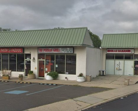 Persian Grille in Hatboro hit with 13 violations; Rodent like droppings observed on floor behind equipment and cooking area. Also dropping observed on tray of clean glass ware