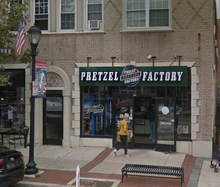 "Philly Soft Pretzel in Lansdale bumbles inspection, ""Dead rodent and rodent-like droppings observed in basement/basement staircase area"""