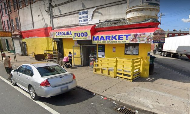 26 violations for Carolina Market in Philly; insect activity in the coffee prep area, Chemicals (bleach & WD 40) were stored on the same shelf with food and/or single service articles