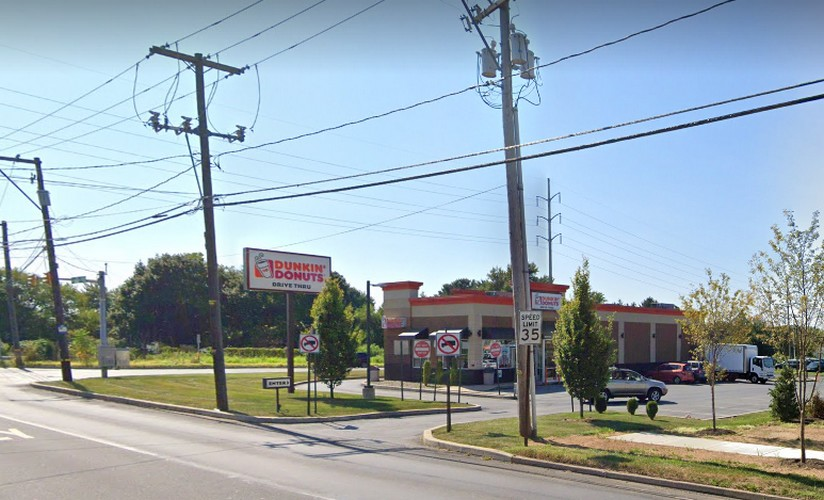 "Allentown Dunkin' Donuts on Hamilton fouls inspection; ""Interior of the ice machine, a food contact surface, was observed to have food residue, mold-like, and pink slime-like substance"""