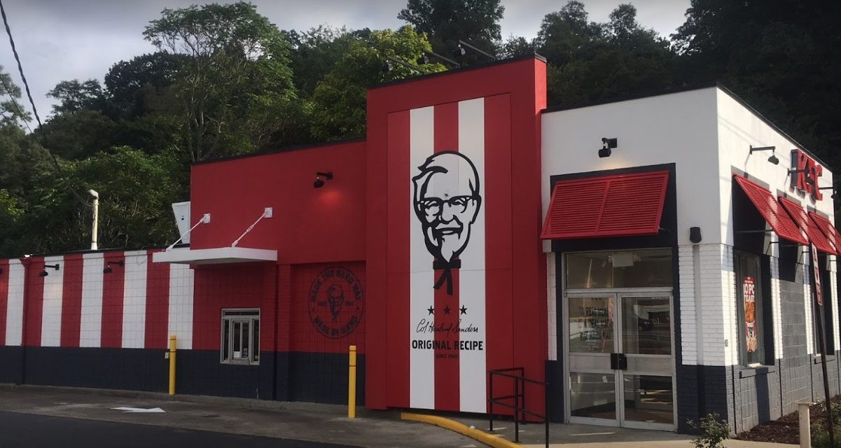 Complaint at New Kensington KFC; 10 violations, Chicken observed prepped in cooler have a large amount of mold on them, Cooler walls have a large amount of mold present on them