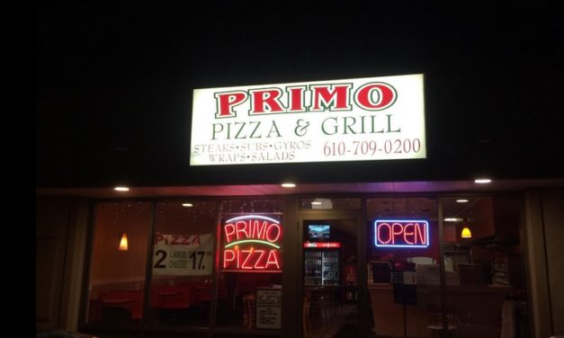Allentown's Primo Pizza fouls inspection; Break fluid, shaving cream, and mouth wash stored above hand washing sink, 5 violations