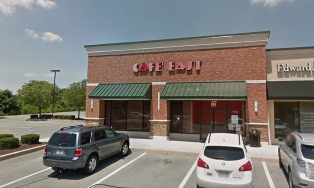 "17 violations for Cafe East Asian Cuisine and Sushi Bar in Lancaster, ""Motor oil and white lithium grease stored with food equipment"""