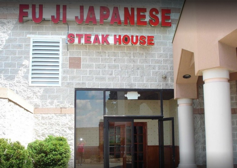 Fuji Japanese Steakhouse in Johnstown fouls inspection; black residue build up on the ice deflection shield and ice bin on the ice machine 7 violations