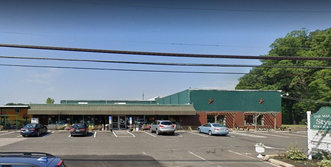 Inspection at Market at Styer Orchards in Langhorne; Pest activity in back deli, shelves, cabinets, front deli, bakery area, outside freezer
