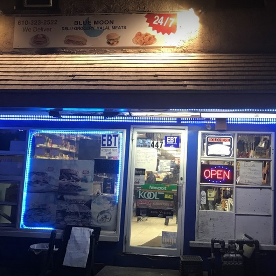 Inspection at Blue Moon Deli & Grocery in Pottstown; Fly-like insects observed throughout facility, 12 violations, 9th straight fail to pass inspection