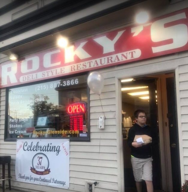 9th straight inspection fumble for Rocky's Deli Style Restaurant in Glenside; 5 times repeat violation- Rodent-like droppings; Dead cockroach-like insect
