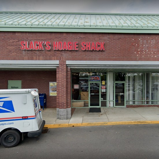 Slacks Hoagie Shack in Huntingdon Valley fouls 7th straight inspection; Loaf of turkey wrapped in cloth rag in chest freezer