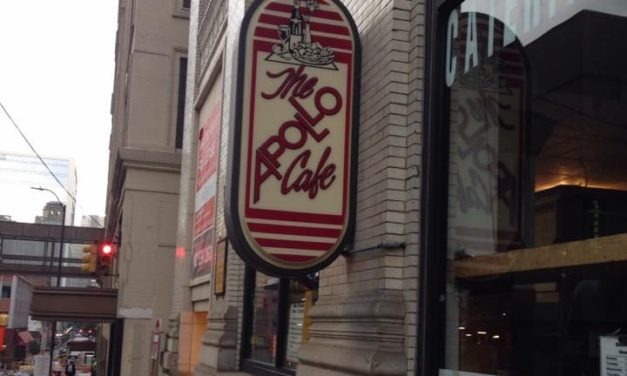 Pittsburgh's Apollo Cafe bumbles inspection; Mouse droppings by side room of kitchen, Employees assembling sandwiches with bare hands