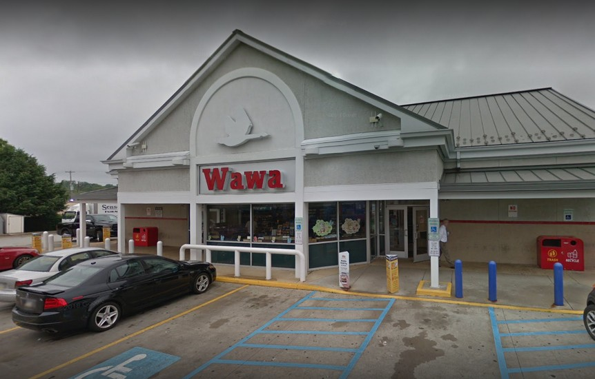 Inspection at Wawa in West Goshen; Approximately one dozen containers of EXPIRED milks were observed in refrigerators intended for use or sale in the facility
