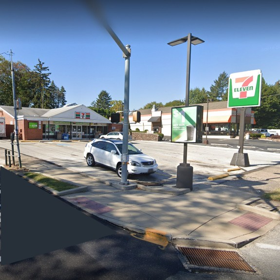 Phoenixville 7-Eleven bumbles inspection; Mold like growth in and around self serve fountain soda machine ice chute, Hand sink inoperable behind front counter