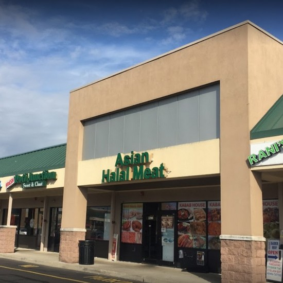 Inspection Asian Halal Meat in Bensalem; Mouse droppings found in kitchen area- repeat violation