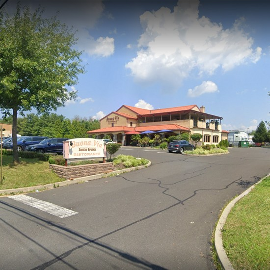 31 violations at Buona Via in Horsham; Pink mold-like residue in ice machine, Employee purse and backpack with clean linens, Employee eating while preparing foods, 8th fouled inspection since April 2017