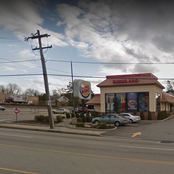 Burger King in Conshohocken fouls inspection- food contact surface- Interior top sect of drink ice bin unclean