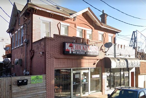 Inspection K&T's Fish & Chicken; 11 violations; Basement smells strongly of sewage, Numerous rodent droppings around the perimeter of the basement near the hot water heater