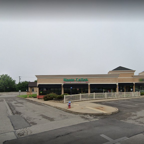 Monte Cello's Cranberry TWP inspection; Fly activity in prep area, Can opener blade and holder have dark sticky build up, 8 violations