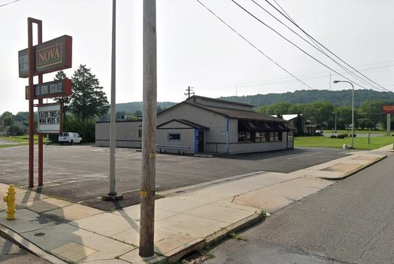 "17 violations at Nova Restaurant in Allentown; Flies were present throughout kitchen, Employee picks up knife from floor uses it, shrimp thawing on floor, Wing sauces marked ""Refrigerate After Opening"" were stored at room temperature"