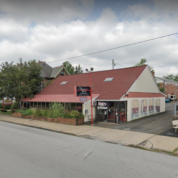 Inspection Valentino's Bistro in Lansdale; 11 violations, No soap at hand washing sink, sliced salami dated 6/30, grill cleaner stored next to clean plates