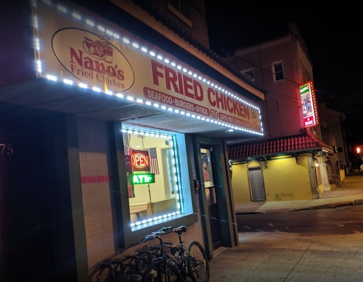 Norristown's Nanos Fried Chicken fouls inspection; 20 violations, Ice cream scoop stored in stagnant water, Evidence of smoking in facility