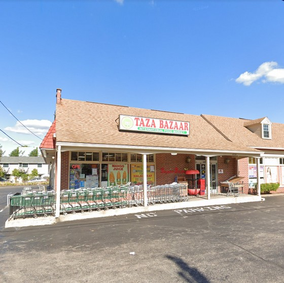 25 violations at Taza Bazaar in West Norriton; Roach-like insect above sink, Trash cans as food prep surfaces, Animal carcass hanging above ready-to-eat foods
