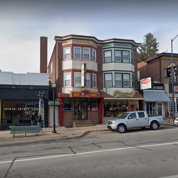 Win Ha Chinese in Conshohocken 20 inspection violations; Handheld insect control device stored among clean tableware