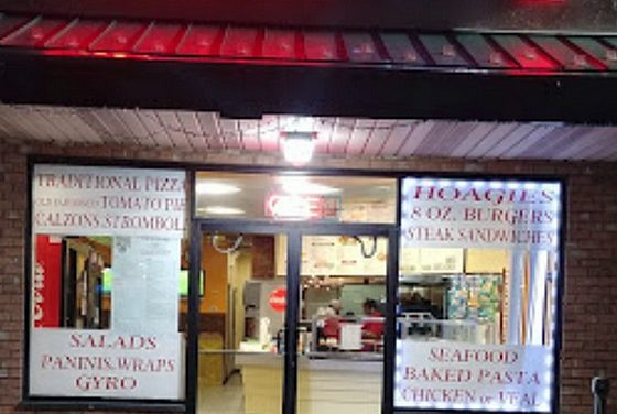 Yordana's Pizza II inspection in Fairless Hills; Dead roaches on the floor behind the chest freezer and in utility closet, repeat violation