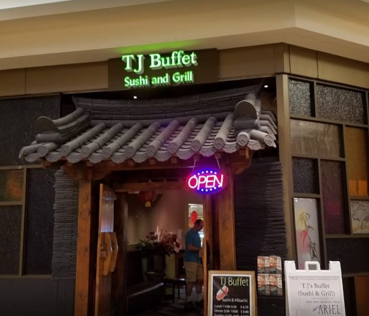 Shut down by Health Department- TJ Buffet Sushi And Grill in Galleria at Pittsburgh Mills