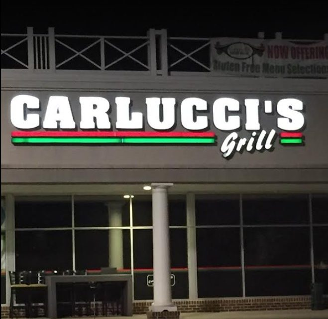 Carlucci's Grill in Morrisville bumbles inspection; ice machine contain a black, mold-like substance, dishwasher is not sanitizing properly
