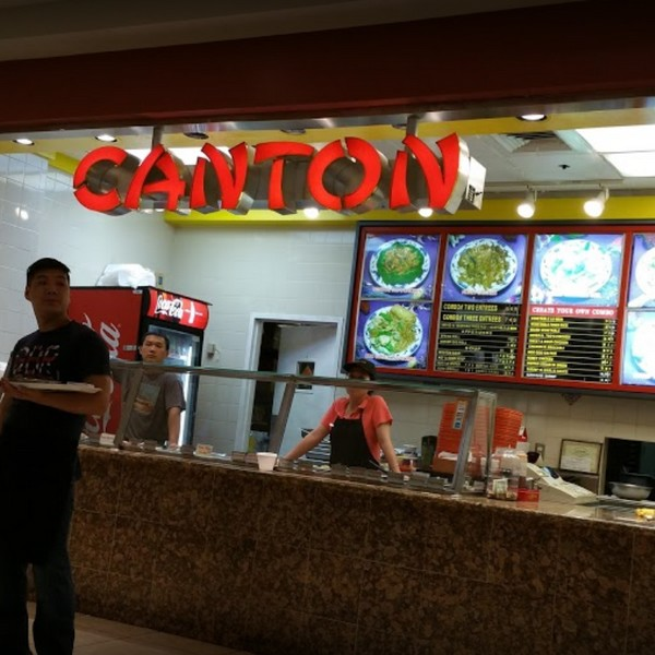 18 violations for Canton at the King of Prussia Mall; Numerous foods below safe temperature, Egg rolls stored in cardboard boxes, Food uncovered throughout