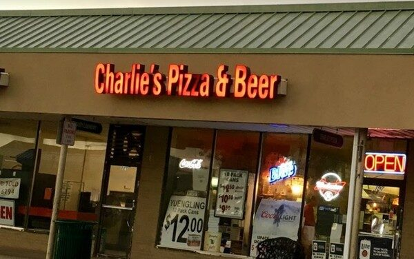 """11 violations Charlie's Pizzeria East Norriton; """"Facility is prepping pizza dough on tray on top of trashcan"""""""