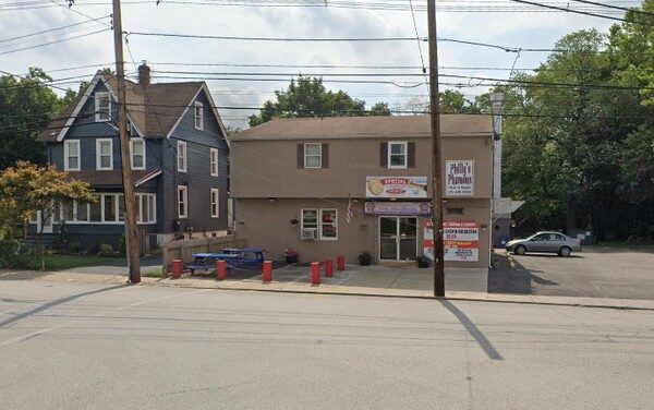 18 violations at Philly's Phamous in Ambler; Rodent-like droppings observed on shelving and on floor in back prep area, fouls 7th inspection since Oct 2017