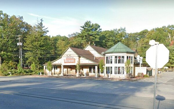 11 violations at Pocono Brewery Company; Dead insect on top of covered thawing fish in walk in cooler, 5-10 small flying insects around drains in bar area